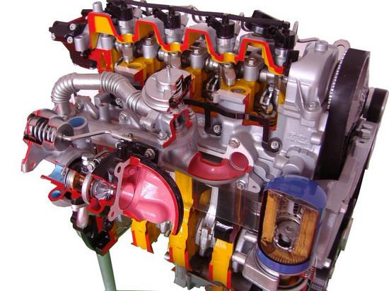 柴油发动机解剖演示台