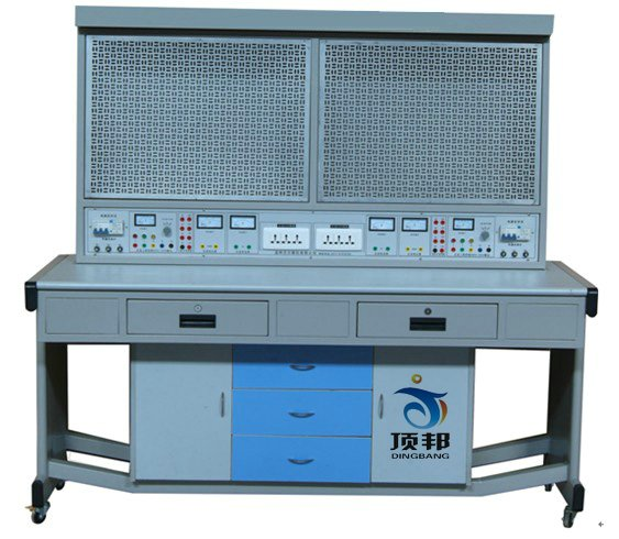 电工实训考核装置(单面双组、网孔板型)