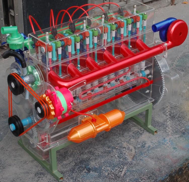 斯太尔发动机教学模型
