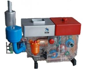 195柴油机模型