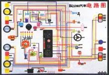 东风EQ1090.解放CA1091汽车程控电教板