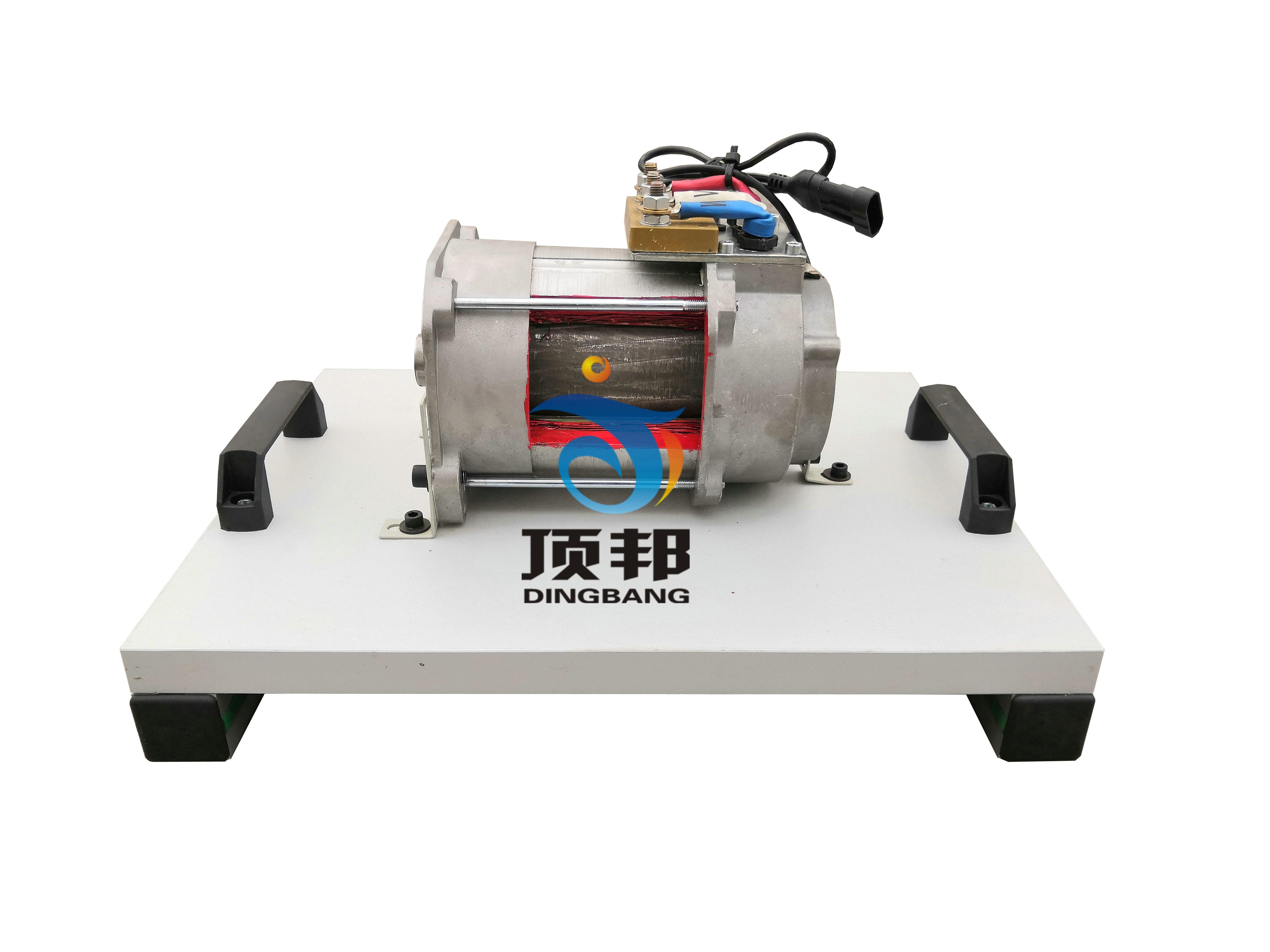 纯电动车交流异步电机解剖模型